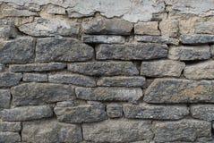 Steinwandbeschaffenheit von den Steinziegelsteinen Hintergrund Stockbild