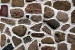 Steinwandhintergrund horizontal Lizenzfreie Stockfotografie