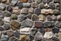 Steinwandhintergrund horizontal lizenzfreies stockbild