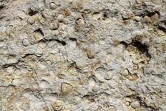 Steinwandhintergrund horizontal Lizenzfreie Stockbilder