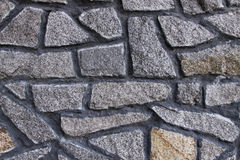 Steinwandhintergrund horizontal Stockfoto