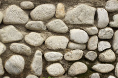 Steinwandhintergrund horizontal Stockfotos