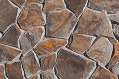Steinwandhintergrund oder -beschaffenheit Stockfoto