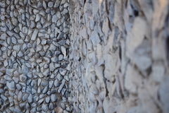 Steinwandsteine Stockfoto