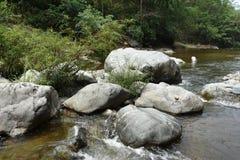 Steinwasserfall Stockbild