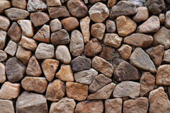 Steinwände Stockbild