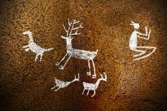Steinzeitalter lizenzfreie stockfotos