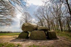 Steinzeitalter-Grab Stockfotografie