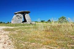 SteinzeitalterDolmen Stockfoto