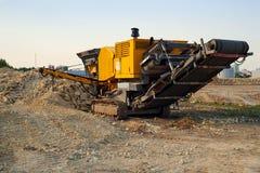 Steinzerkleinerungsmaschine Lizenzfreies Stockfoto