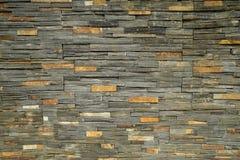 Steinziegelstein kopierter Beschaffenheitshintergrund abstrakter Naturstein Stockfotos