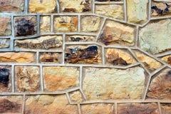 Steinziegelsteinhintergrund Lizenzfreie Stockbilder