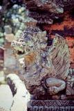Steinzusammensetzung im Affe-Wald Stockfotografie