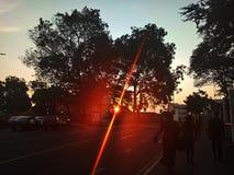 Stek światło od słońca zdjęcie royalty free