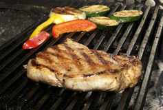 Stek i grule Fotografia Stock