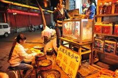 Stek mjölkar mat, den etniska minoriteten Royaltyfri Foto
