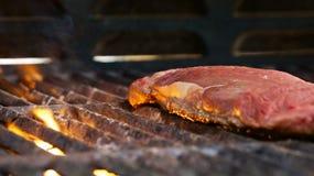 Stek na grillu Fotografia Stock