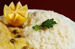stek ryżu zdjęcie stock