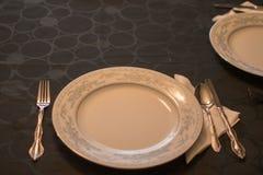 stek Turkiet med grönsak- och vinexponeringsglas Royaltyfri Foto