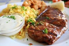 stek wołowiny Zdjęcie Royalty Free