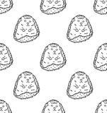 Stekelvarken of Egel op Witte Achtergrond Vector illustratie Stock Afbeelding