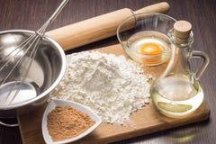 Stekhet ingrediensbakgrund Royaltyfri Foto