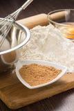 Stekhet ingrediensbakgrund Arkivfoto