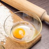 Stekhet ingrediensbakgrund Fotografering för Bildbyråer
