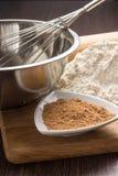 Stekhet ingrediensbakgrund Royaltyfri Fotografi