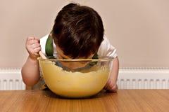 stekhet litet barn Royaltyfri Fotografi