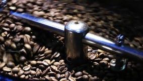 Stekhet maskin för kaffe arkivfilmer