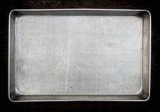stekhet metallpanna Arkivbild