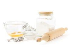 stekheta ingredienser Arkivbild
