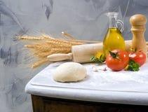 stekheta ingredienser Royaltyfria Bilder