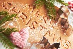 Stekheta julkakor Fotografering för Bildbyråer