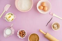 stekheta normala ingredienser Royaltyfria Bilder