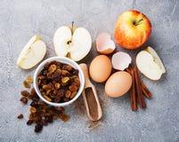 stekheta nya ingredienser Royaltyfri Foto