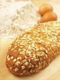 stekhett bröd Arkivfoton