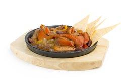 Stekkött och grönsaker Royaltyfri Foto