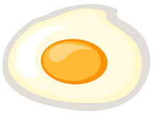 stekt ägg Arkivfoton