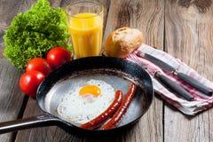 stekt ägg Fotografering för Bildbyråer