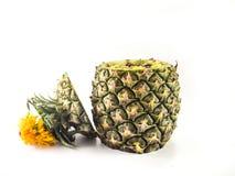 stekt ananasrice Arkivbilder