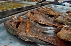stekt fisk Royaltyfri Fotografi