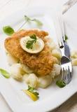 stekt fisk Royaltyfri Foto