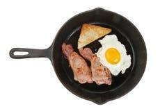 Stekt frukost Arkivfoto