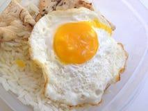 stekt ägg Arkivbilder