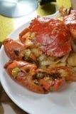 Stekt krabba Royaltyfri Bild