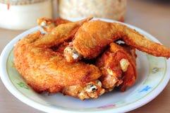 Stekt kyckling Royaltyfri Bild