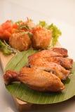 Stekt kyckling Arkivfoton