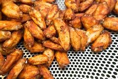 Stekt kyckling Fotografering för Bildbyråer